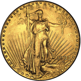 Twenty Dollar Gold St. Gaudens