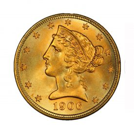 Five Dollar Gold Coin Indian